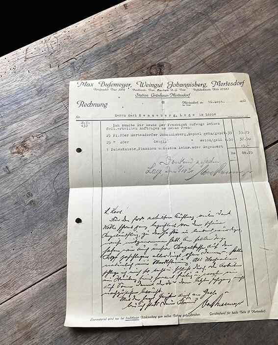 Historische Rechnung