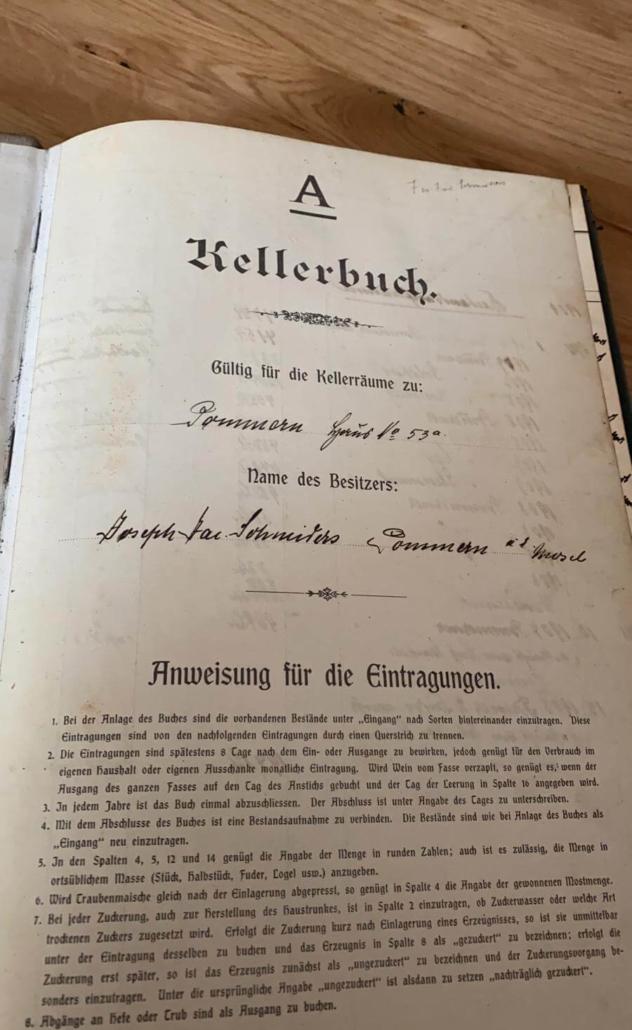 Historisches Kellerbuch