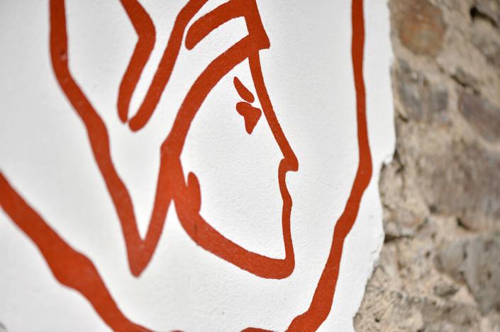 Lenus-Mars Wandgemälde