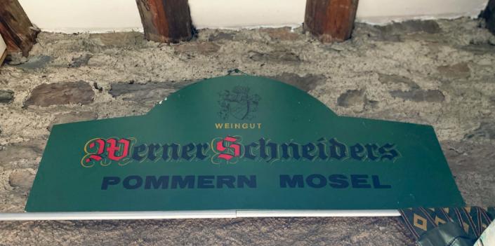 Schild Weingut Werner Schneiders