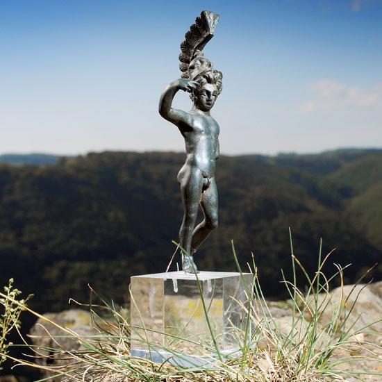 Lenus Mars Statue auf dem Martberg