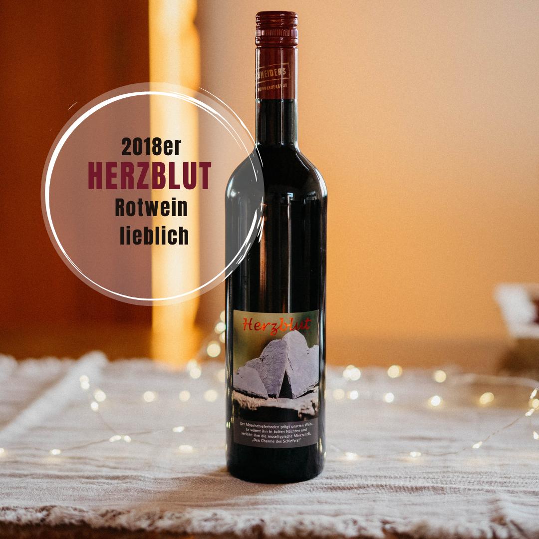 Wein des Monats Juli: 2018er Herzblut